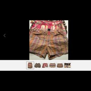 Four Pair Girls Shorts Old Navy Gap Etc. Sz 8